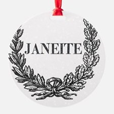 janeite button ornate Ornament