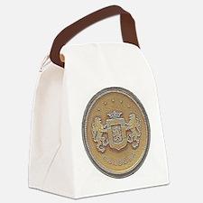 Chrysler Cordoba Emblem Design Canvas Lunch Bag