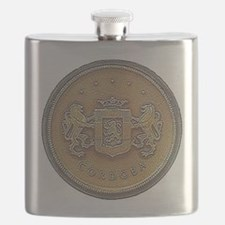 Chrysler Cordoba Emblem Design Flask