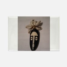The Cowrie Mask Rectangle Magnet (10 pack)
