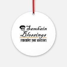 samhain one Ornament (Round)