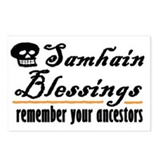 samhain one Postcards (Package of 8)