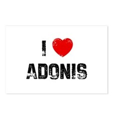 I * Adonis Postcards (Package of 8)