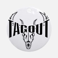 tagout1 Round Ornament