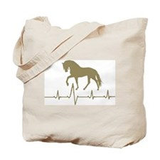 Racking Horse Skip a Beat Tote Bag