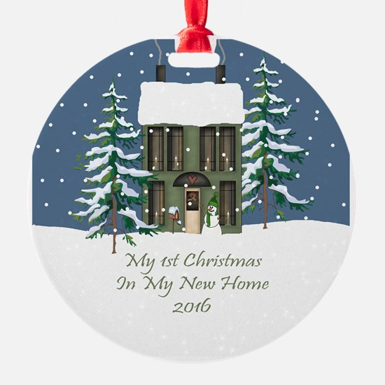 2016 My 1St Christmas House Ornament