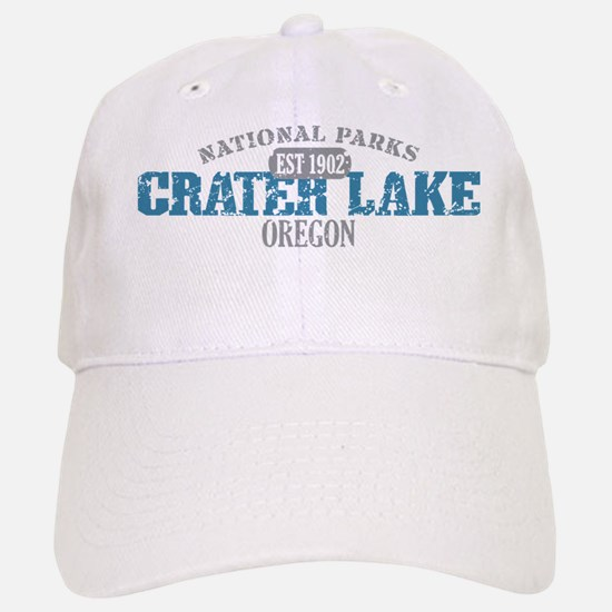 Crater Lake 3 Baseball Baseball Cap