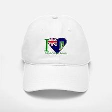 I love Virgin Islands Baseball Baseball Cap