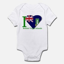 I love Virgin Islands Infant Bodysuit