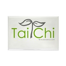 Tai Chi Growth 8 Rectangle Magnet