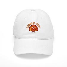 Gobble Tov Thanksgivukkah Turkey Baseball Baseball Cap