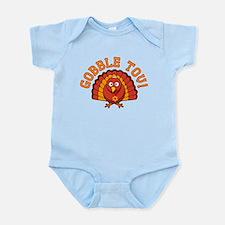 Gobble Tov Thanksgivukkah Turkey Body Suit