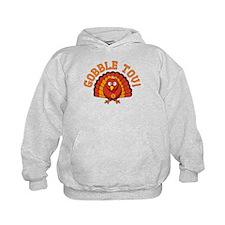 Gobble Tov Thanksgivukkah Turkey Hoodie
