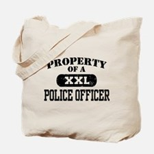 Property of a Police officer Tote Bag