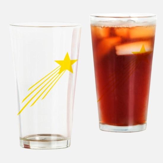 shooting star yellow Drinking Glass