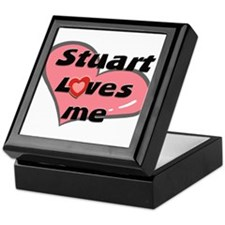 stuart loves me Keepsake Box