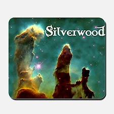 Silverwood-pillars Mousepad