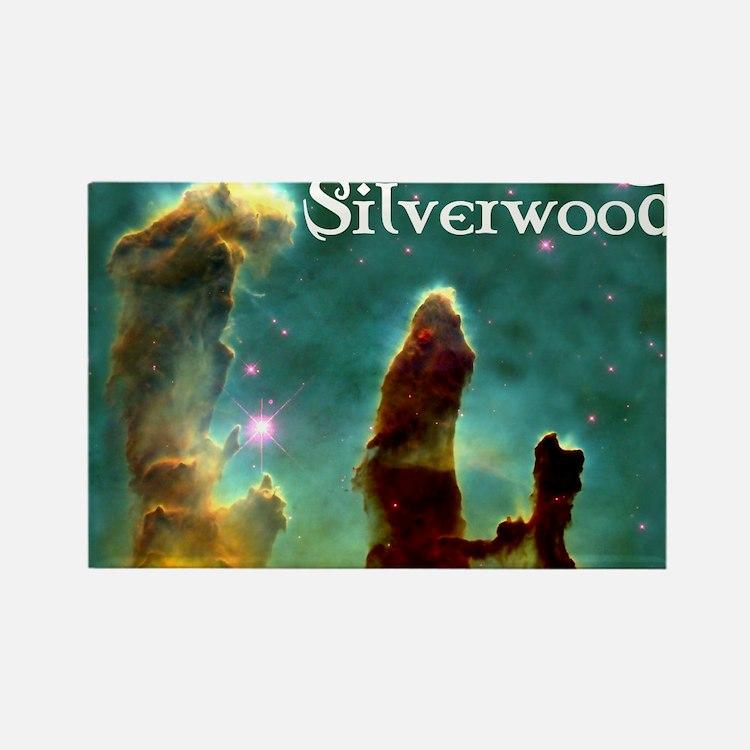 Silverwood-pillars Rectangle Magnet