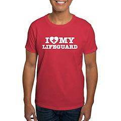 I Love My Lifeguard T-Shirt