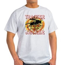 tracker jacker with white letters hu T-Shirt