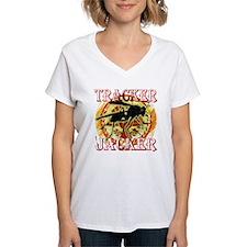 tracker jacker with white l Shirt