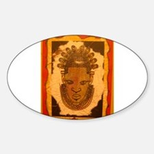 The Orange Mask Oval Decal