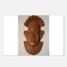 The Wooden Mask Postcards (Package of 8)
