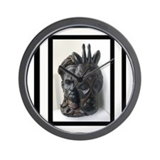 The (Male) Mask/Mask Wall Clock