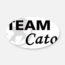 Team Cato Oval Car Magnet