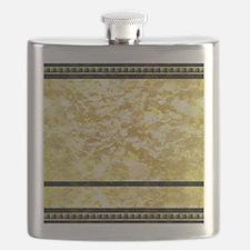 goldpatternshowerduvet Flask