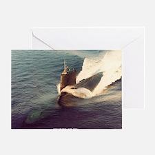 shark framed panel print Greeting Card