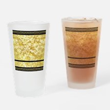 goldpatternsduvet Drinking Glass