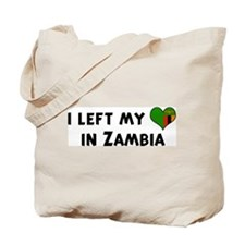 Left my heart in Zambia Tote Bag