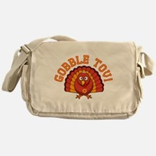 Gobble Tov Thanksgivukkah Turkey Messenger Bag