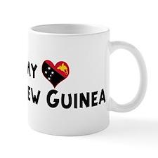 Left my heart in Papua New Gu Mug