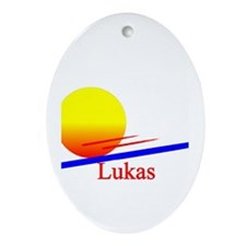 Lukas Oval Ornament