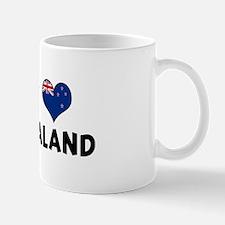 Left my heart in New Zealand Mug