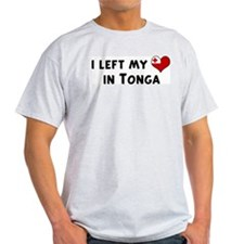 Left my heart in Tonga T-Shirt