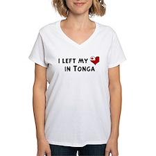 Left my heart in Tonga Shirt