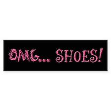 OMG Shoes 2.0 Bumper Bumper Sticker