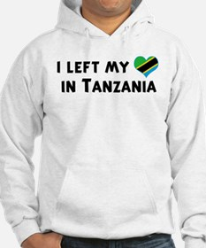 Left my heart in Tanzania Hoodie