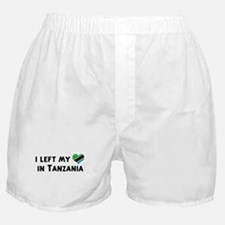 Left my heart in Tanzania Boxer Shorts