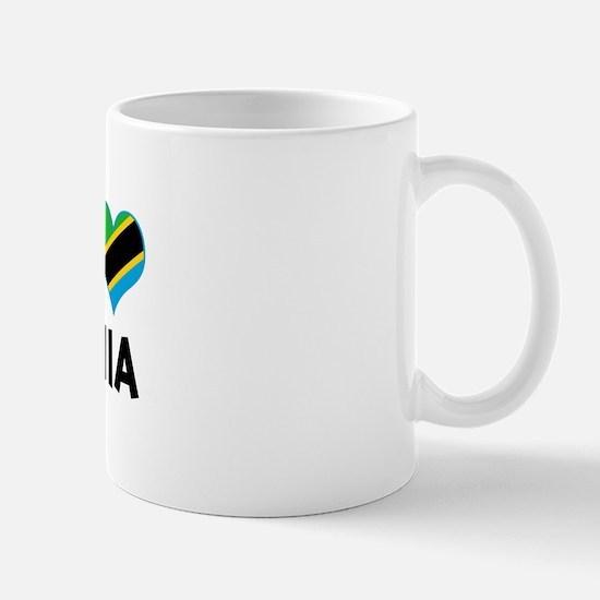 Left my heart in Tanzania Mug