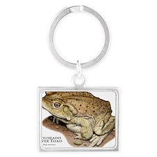 Colorado River Toad Landscape Keychain