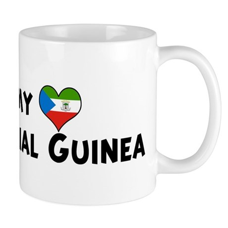Left my heart in Equatorial G Mug