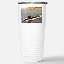 shouston ssbn large framed prin Travel Mug