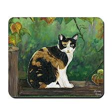 Calico Cat Mousepad