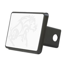 WhiteTribal Boar invis bac Hitch Cover