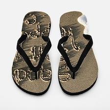 sandysaltyhappy Flip Flops