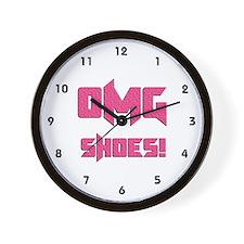 OMG Shoes 1.0 Wall Clock